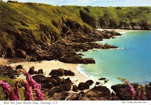 Guernsey Postcard, 1969 Petit Port from Moulin Huet, C.I by John Hinde Ltd P1