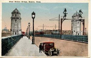 MA - Boston. West Boston Bridge       (crease)