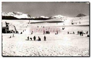 Modern Postcard Villard les Bains The track baths right Flycatcher (2289m)