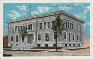 Exterior, Public Library, Cedar Rapids, Iowa,00-10s