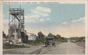Military Over The Backbone Of The Hoosac Range Jacobs Ladder Roadway 1929