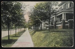 South Seventh Street Charleston Ill 1909 E.C. Kropp Co