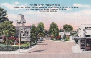 ST. PETERSBURG, Florida, 1930-1940's; White City Tourist Park