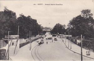 France Brest Avenue Amiral-Reveillere