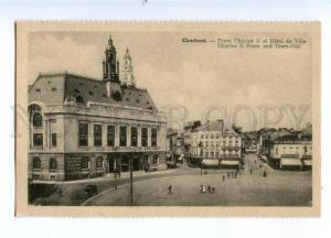 173381 CHARLEROI Town-hall & Charles II place str ADVERTISING