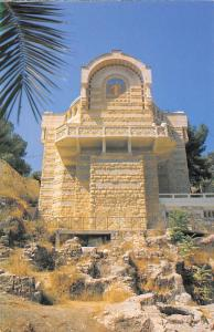 Israel Jerusalem Remains of the Palace Caiaphas, Church of St. peter Gallicantu
