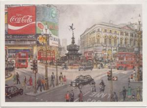 London, Piccadilly Circus, unused Postcard