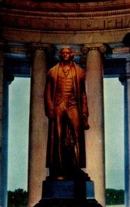 Washington D C Jefferson Memorial Jefferson Statue
