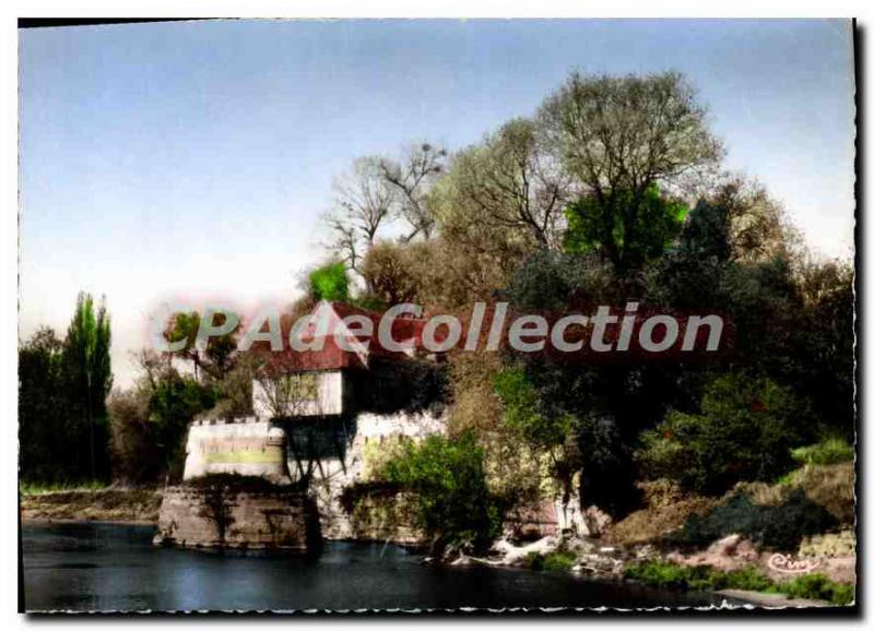 Postcard Modern Vernon The Old Mill On The Seine