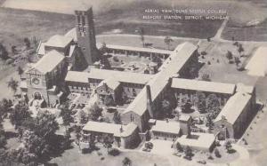 Michigan Detroit Aerial View Duns Scotus College Redford Station Artvue