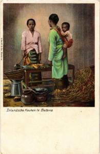 CPA Inlandsche Keuken te BATAVIA INDONESIA (565902)
