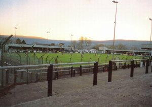 Non-League Football Ground Postcard, Merthyr Tydfil FC, Penyredarren Park, Wales