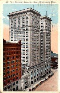 Minnesota Minneapolis First National Bank Soo Building 1923