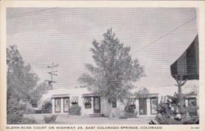 Colorado East Colorado Springs Glenn-Russ Court
