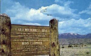 Gila Wilderness Area, New Mexico, NM Gila Wilderness Area NM 1965