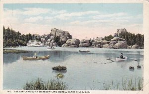 Sylvan Lake Summer Resort And Hotel Black Hills South Dakota 1920