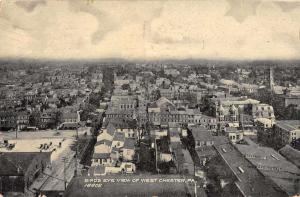 West Chester Pennsylvania Birds Eye View Vintage Postcard JE228346