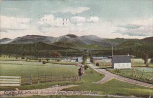 Presidential Range From The Highland Road White Mountains New Hampshire 1910