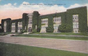 San Diego High School, San Diego, California, 1930-40s