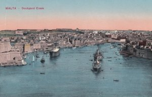 MALTA , 1900-10s ; Dockyard Creek