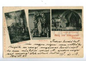 152061 Czech Republic GRUSS aus KONIGSWART BOHMEN Bohemia