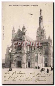 Sainte Anne d & # 39Auray Old Postcard Basilica