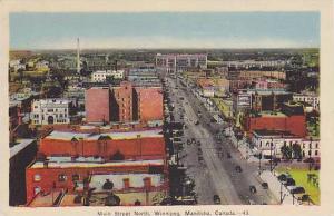 Main Street , North , Winnipeg, Manitoba  , Canada, 30-40s