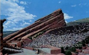Red Rocks Theater - Denver, Colorado CO