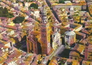 Italy Cremona Cathedral and Baptistery