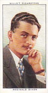 Wills Cigarette Card Radio Personalities 2nd Series No 13 Reginald Dixon