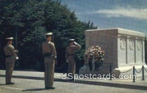 Tomb of the Unknown Soldier - Arlington Cemetery, Virginia