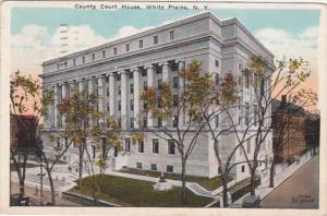 New York White Plains County Court House 1928
