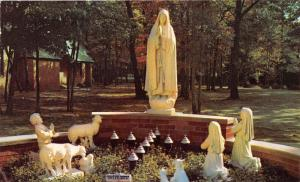 Prudenville Michigan~Lady of Fatima Shrine @ Our Lady of the Lake Church~'50s Pc