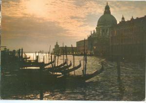 Italy, Venice, Venezia, Canal Grande, Tramonto, 1982 used Postcard