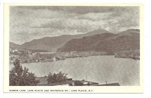Mirror Lake, Lake Placid and Whiteface Mt., Lake Placid, Ny
