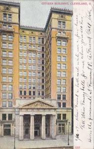 Ohio Cleveland Citizen Building 1907