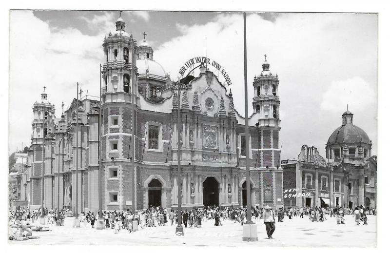 Vintage Photo Postcard - Basilica De Guadalupe, Mexico - Gamboa Photo (NN43)
