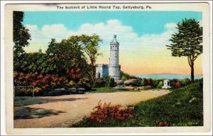 Summit of Little Round Top, Gettysburg PA