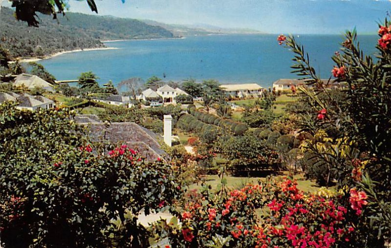 Jamaica, Jamaique Post card Old Vintage Antique Postcard Round Hill Montego B...