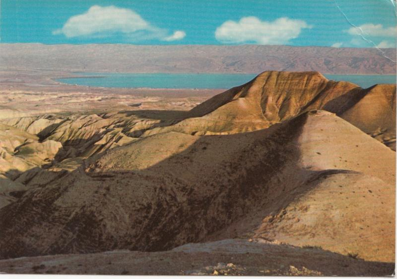 The Dead Sea, Jordan, unused Postcard