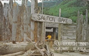 Alaska Skagway Sourdough Inn Salmon Bake sk2995