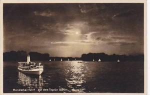 RP, Mondscheinfahrt Auf Dem Tegeler See, Berlin, Germany, 1920-1940s