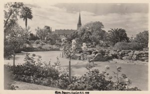 RP: NAPIER , New Zealand , 1930s ; Clive Square