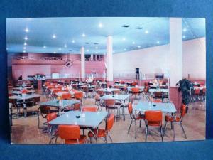 Postcard CA Santa Ana Gillette's Cafeteria