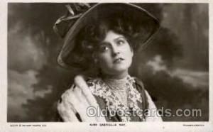 Miss Cabrielle Ray Famous People Postcard Post Card  Miss Cabrielle Ray