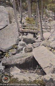 GLEN ONOKO , Pennsylvania , 1900-10s ; Pulpit Rock