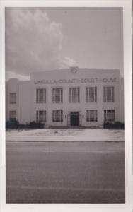 Florida Crawfordville Wakulla County Court House Real Photo