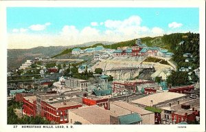 Homestake Mills Lead S. D. South Dakota Vintage Postcard Standard View Card
