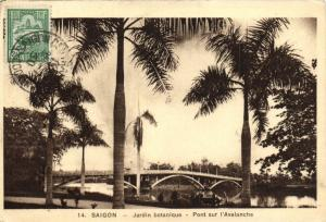 CPA Vietnam Indochine -  Saigon - Jardin Botanique (84928)