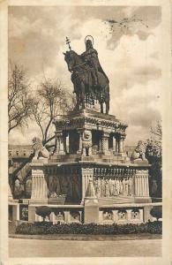 Hungary Budapest Eucharistic congress postcard Szent Istvan